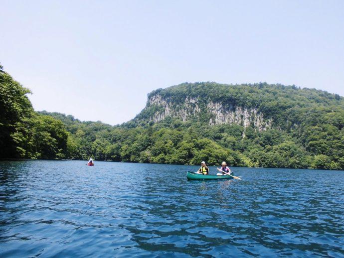 十和田湖カヌー